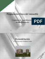 Seccion 1 Preparacion Del Inmueble