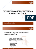 Transparencias do Custos Despesas e Preco de Venda