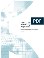Opus Presupuesto Programable