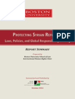 Protecting Syrian Refugees