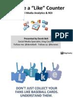 Pacific NW DGS 2015 Presentation - Social Media - Derek Belt