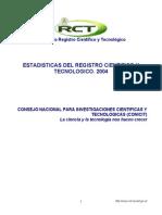 Documento Estadisticas 2004 RCTWEB