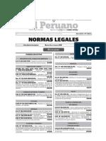 Boletin Normas Legales 06-10-2015 - TodoDocumentos.info