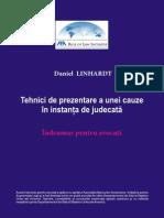 Tehnici  de Prezentare a Unei Cauze in Instanta de Judecata