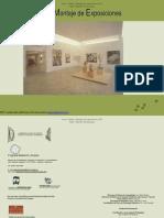 Diseno y Montaje de Exposiciones Modulo