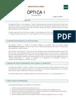 Óptica I - Guía