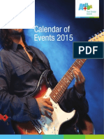 calendar of events 2015