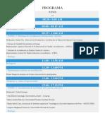 Programa Congreso SINEACE
