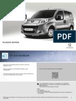 Peugeot Bipper 2014 Owners Manual