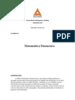 ATPS Matemática Financeira