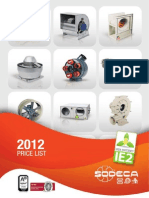 TF01 Price List 2012EN