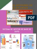 Sistema Gestores de Base de Datos