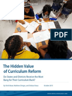The Hidden Value of Curriculum Reform