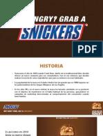 Presentación Snickers