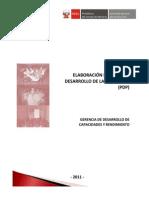 SERVIR-GuiaMetodologica Plan Desarrollo Personas