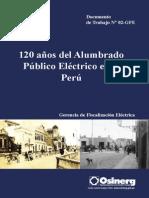120 Años de Alumb. Público en Perú