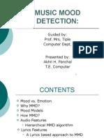 Music Mood Detection (Lyrics based Approach).pptx