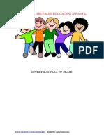 Dinámicas Grupales Educación Infantil
