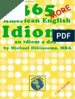 365 More American English Idioms Sample