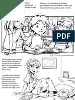 Dominio Propio Paginas Para Pintar - Self Control Coloring Pages