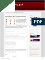 Cambiar Carpeta Escritorio Ubuntu