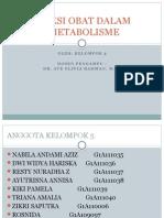 interaksi obat dalam tahap metabolisme