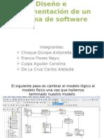 Diseño e Implementación de Un Sistema de Software