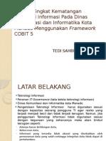 Presentasi Analisa Tingkat Kematangan Teknologi Informasi Pada Dinas Komunikasi
