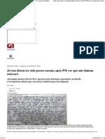 G1 - Jovens Dizem Ter Sido Presos Mesmo Após PM Ver Que Não Tinham Máscara - Notícias Em Pernambuco
