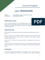 Curso Negociacin