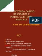 Resuscitarea Cardio-circulatorie - De Mana