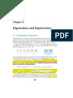 Eigenvalue and Eigen Vectors