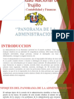 Panorama de La Admin.