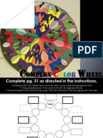 complex color wheel powerpoint