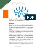 Promocion Cultural Redes Sociales