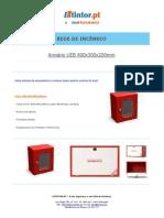 Ficha Tecnica - Caixa UEB 400x300x200mm
