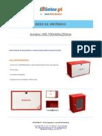 Ficha Tecnica - Caixa UEB 600x400x200mm