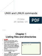 UNIX and LINUX Commands