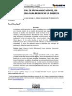 Articulo Muhammad Yunus y las empresas sociales