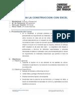 Gestion Para La Construccion Con Excel Actualizado