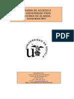 FOLLETO M25 2015 Con Fechas, Lugar y Vicerrectorado_0