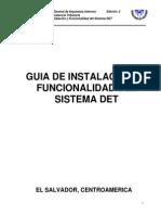 Guia de Instalacion y Funcionalidad Del Sistema Det