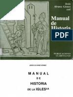 Alvarez Gomez Jesus - Manual de Historia de La Iglesia