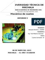 Mecánica de Suelos Informe 5