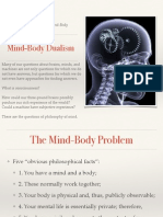 mind body dualism intro