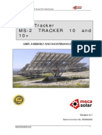 solar pv array tracker