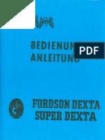 Bedienungsanleitung Super Dexta