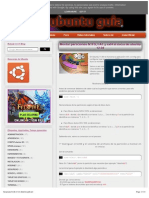 Montar Particion Inicio Ubuntu