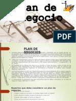 Plan de Negocios Expo Margot