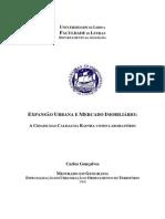 Expansão Urbana e Mercado Imobiliário_ a Cidade Das Caldas Da Rainha Como Laboratório - Portugal
